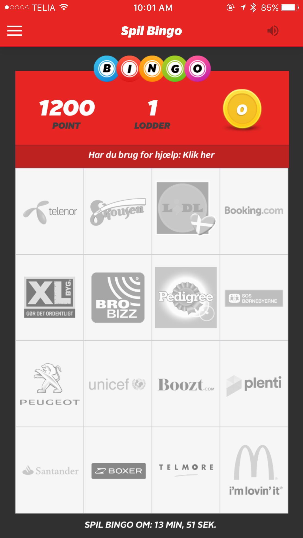 Reklame Bingo hos TV2 - Alt om reklame bingo på CasinoButler