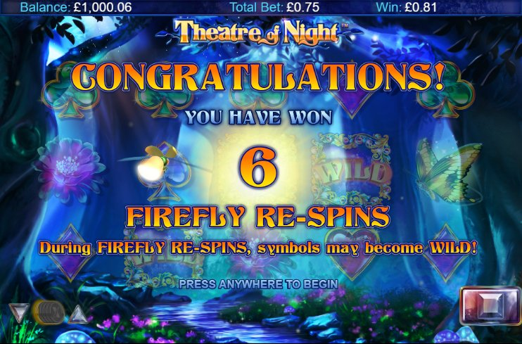 Theatre of Night re-spins