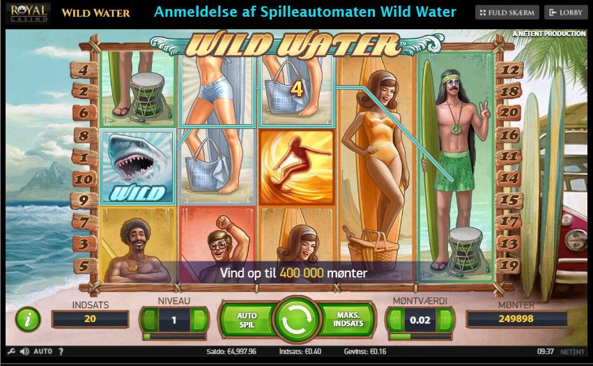 Anmeldelse af Wild Water