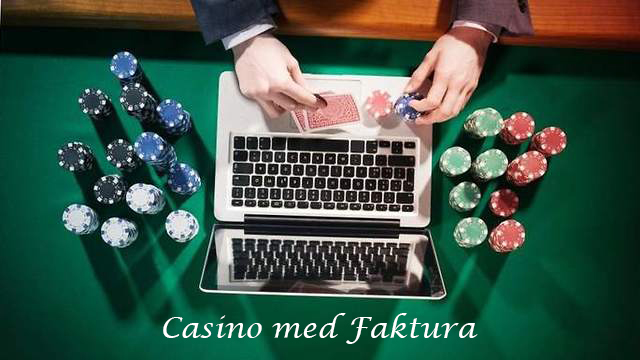 betaling casino faktura