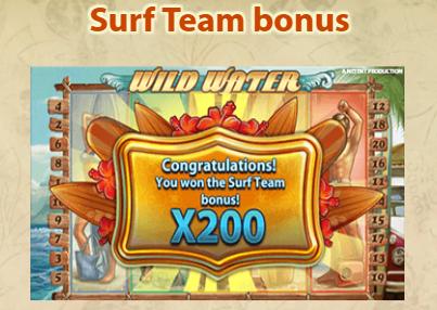 Surf Team bonus