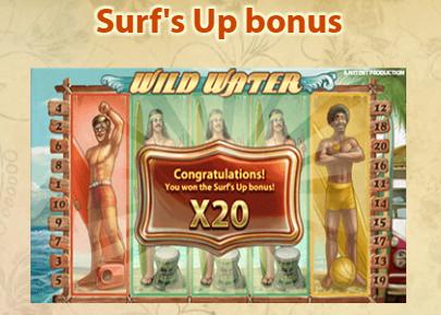 Surf's Up bonus