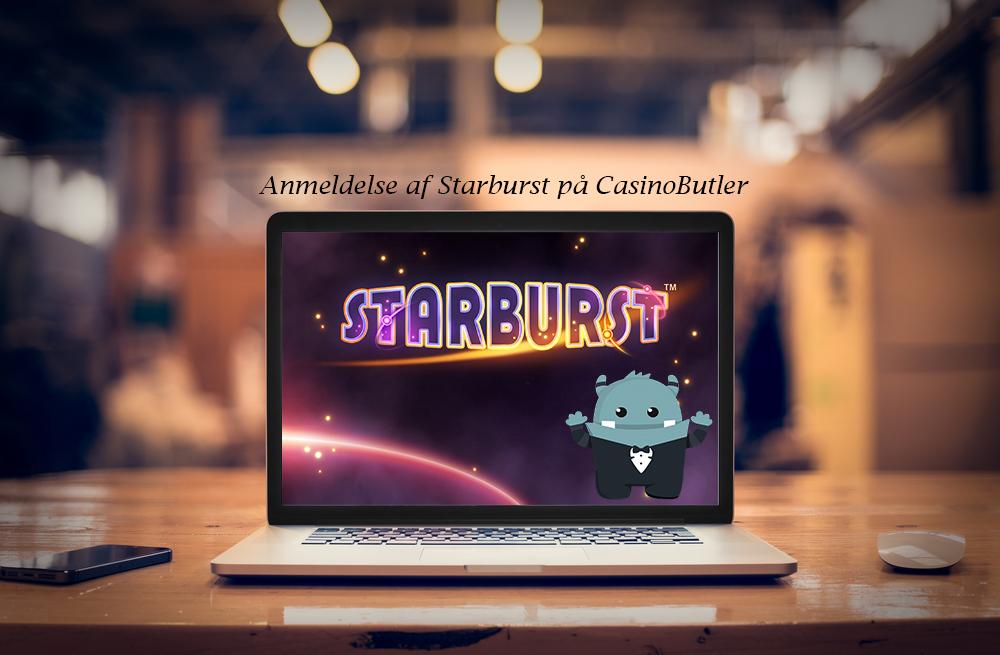 anmeldelse starburst slot