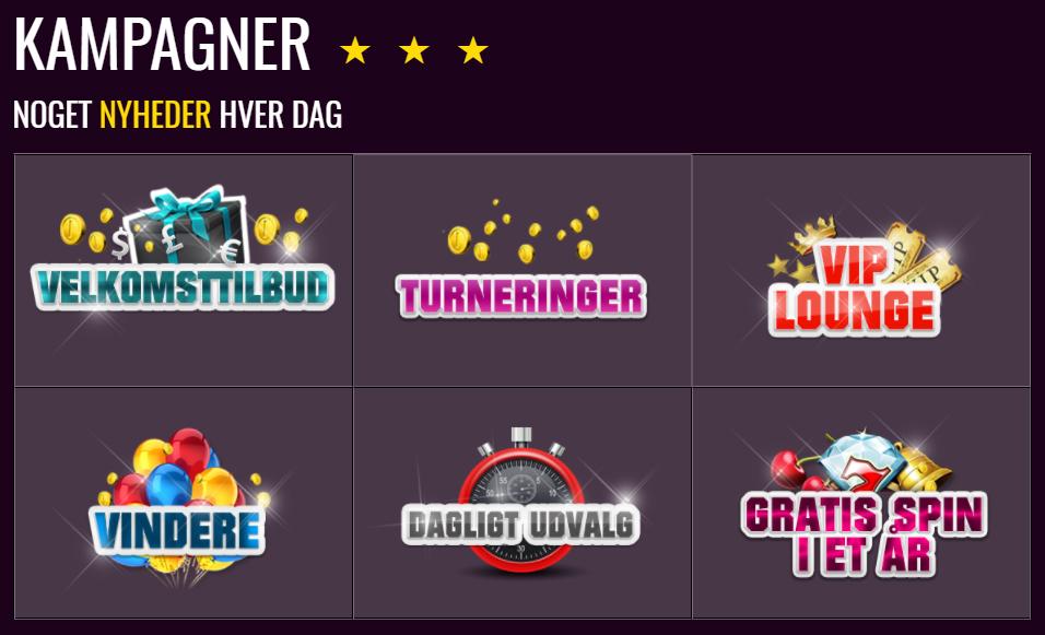 kampagner casino