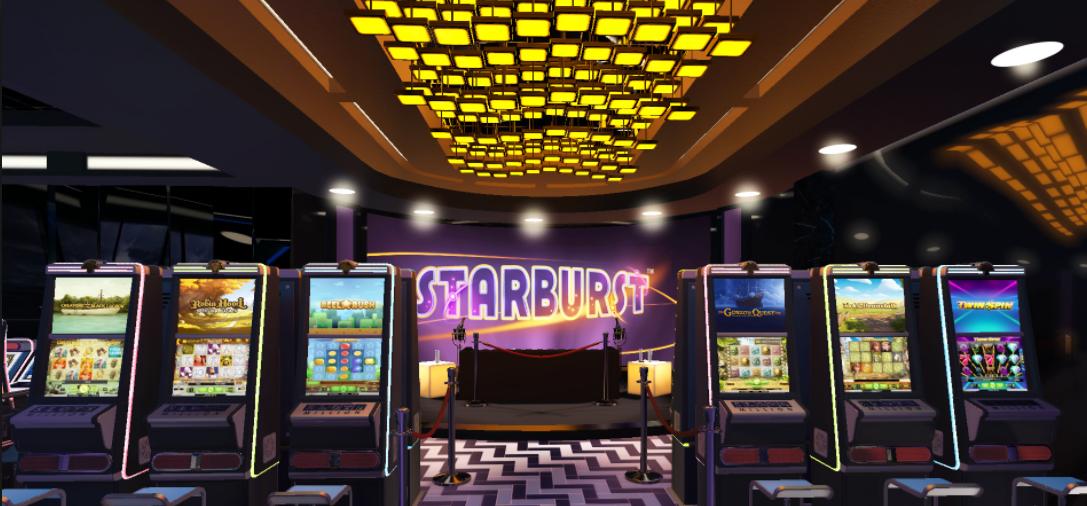 vr casino med slot