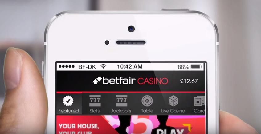 casino på mobil betfair
